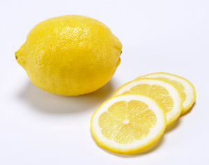 Expérience n°1 : la tranche de citron