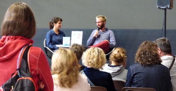 Conférence et dédicace au salon «On est bien» à Annecy