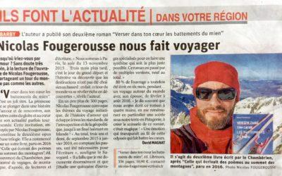 Article de presse : Le Dauphiné Libéré du 21 avril 2019